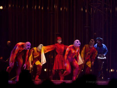 Circus, Cirque du Soleil, Sheffield, Varekai