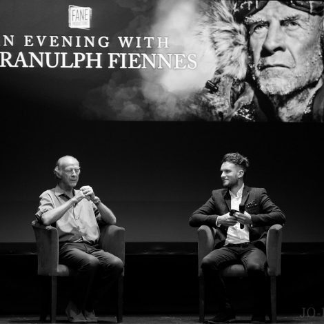 Sir Ranulph Fiennes, York, Grand Theatre, Jo Forrest, Review