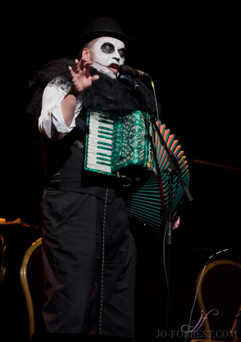 The Tiger Lillies, City Varieties, Leeds, Jo Forrest, Music, Review, Cabaret