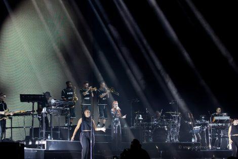 Liverpool. Echo Arena, Jess Glynne, Concert
