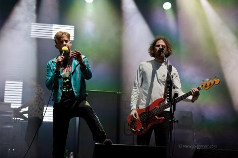Kaiser Chiefs, Aintree Racecourse, Liverpool, Live Event, Concert
