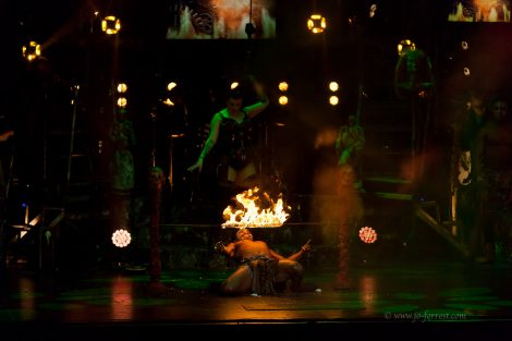 Circus of Horrors, Voodoo, Liverpool, Jo Forrest, totalntertainment, musical