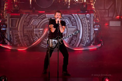 Nickelback, tour, Jo Forrest, Leeds, First Direct Arena