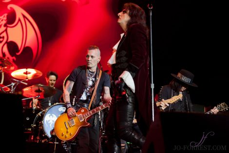 Hollywood Vampires, Johnny depp, Alice Cooper, Joe Perry, Manchester, Jo Forrest, Music Photographer