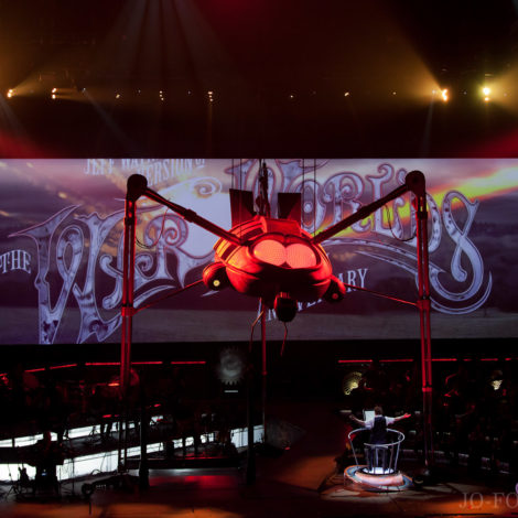 War of the Worlds, Jeff, Wayne, Musical, Leeds, First Direct Arena, Review, Jo Forrest,