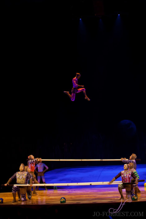 Cirque du Soleil, Totem, Jo Forrest, Royal Albert Hall, London