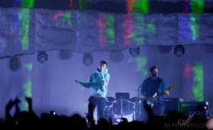 Bastille, Victoria Warehouse, Manchester, Jo Forrest, Review