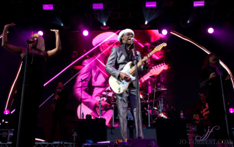 Nile Rogers, Music, Jo Forrest, Haydock Racecourse,  Review