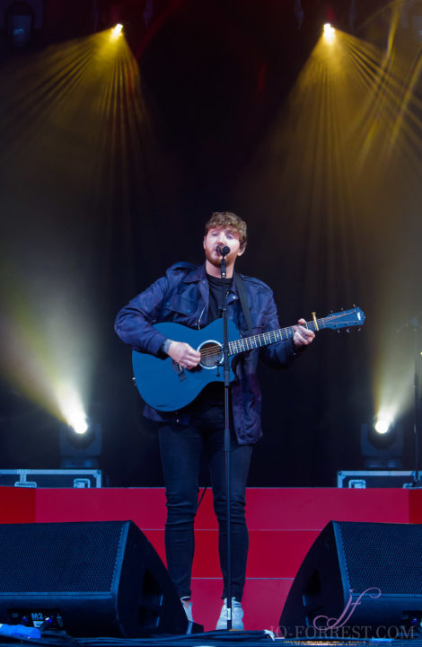 James Arthur, York, Jo Forrest, Review, Music, York Racecourse