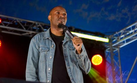 Dane Baptiste, Leeds, Festival, Comedian, Jo Forrest, Review, Comedy Photographer
