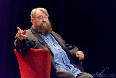 Brian Blessed, Theatre, Jo Forrest, Review,