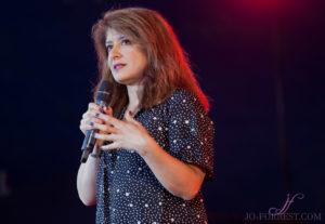 Shappi Khorsandi, Comedy, Leeds festival, Jo Forrest, Review, Bramham Park, Photography
