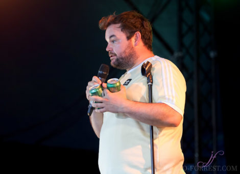 Lloyd Griffiths, Comedy, Leeds festival, Jo Forrest, Review, Bramham Park, Photography